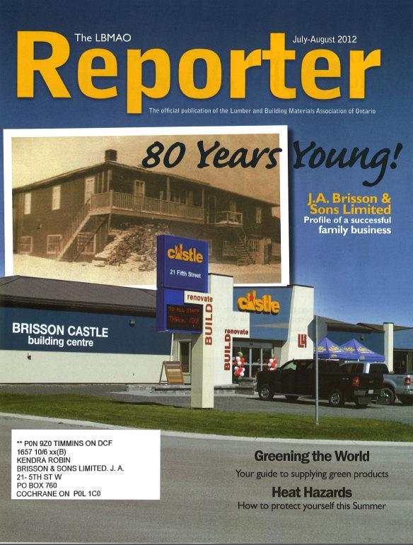 Our history brisson castle building centre ja brisson sons solutioingenieria Image collections